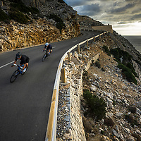 Walter Hamilton and James Brickell, Mallorca, Spain, shot for Endura.