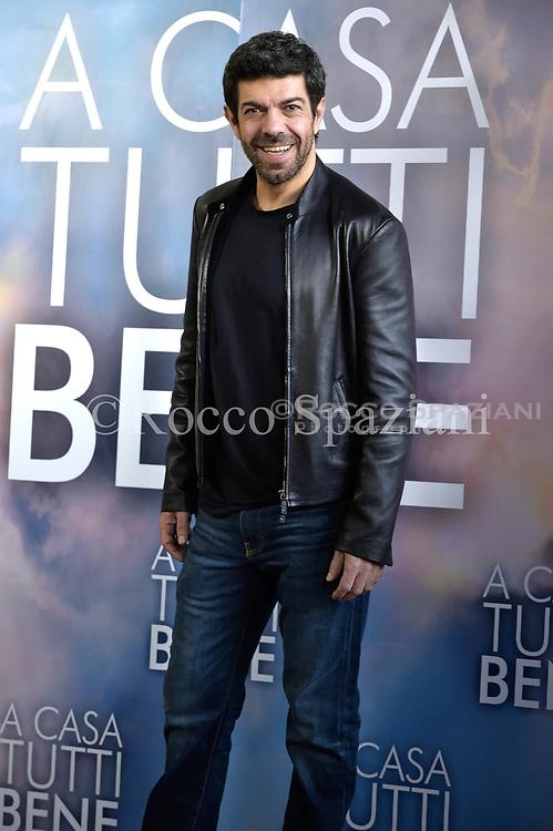Pierfrancesco Favino attends 'A Casa Tutti Bene' photocall on February 2, 2018 in Rome, Italy.