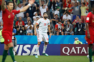 Diego costa of Spain during the 2018 FIFA World Cup Russia, Group B football match between Portugal and Spain on June 15, 2018 at Fisht Stadium in Sotschi, Russia - Photo Tarso Sarraf / FramePhoto / ProSportsImages / DPPI