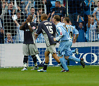 Photo: Leigh Quinnell.<br /> Coventry v Reading. Coca Cola Championship.<br /> 10/09/2005. Leroy Lita misses a penalty for Reading