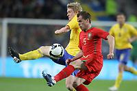 20090328: PORTO, PORTUGAL - Portugal vs Sweden: World Cup 2010 Qualifying Match. In picture: duda and  . PHOTO: Ricardo Estudante/CITYFILES