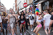 Gay Pride 2018, Soho, London. 7 July 2018