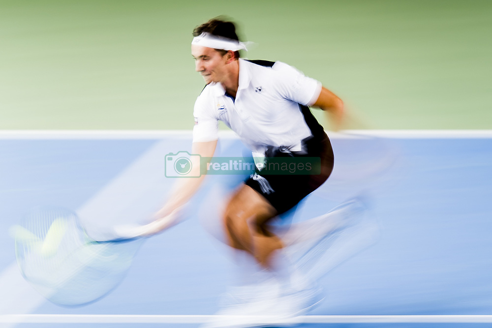 November 16, 2017 - Oslo, NORWAY - 171116 Casper Ruud of Norway during the Norwegian Tennis Open match against Alessandro Giannessi of Italy on November 16, 2017 in Oslo..Photo: Jon Olav Nesvold / BILDBYRÃ…N / kod JE / 160071 (Credit Image: © Jon Olav Nesvold/Bildbyran via ZUMA Wire)