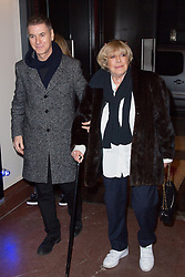 Etienne Daho and Marianne Faithfull arriving at 'Marianne Faithfull, fleur d'ame' documentary premiere at Cinema Elysee-Biarritz on February 26, 2018 in Paris, France. Photo by Nasser Berzane/ABACAPRESS.COM