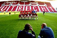 seizoen 2003 / 2004 , utrecht 24-09-2003 , fc utrecht - msk zilina . eerste ronde uefa cup. utrecht speelt in de galgewaard zonder publiek i.v.m. uefa straf.<br /> Foto: Digitalsport