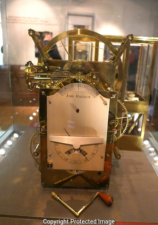 John Hudson's Third time keeper in  the Royal Observatory<br /><br /> Photo by Dennis Brack