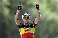 Sykling , 2. juli 2011 , Les Herbies (Mont des Alouettes)<br /> Tour de France 2011 / The Tour of France 2011 / 1st stage / Passage du Gois - Les Herbiers / <br /> Philippe GILBERT  (OMEGA PHARMA - LOTTO - BEL)<br /> <br /> Norway only