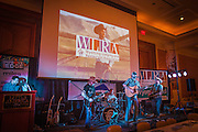 Music at the Wyoming Governor's Hospitality & Tourism Conference in Cheyenne, Wyoming.