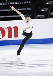 February 7, 2019 - Los Angeles, California, U.S - Leslie Man Cheuk of Hong Kong, China competes in the Men Short Program during the ISU Four Continents Figure Skating Championship at the Honda Center in Anaheim, California on February 7, 2019. (Credit Image: © Ringo Chiu/ZUMA Wire)