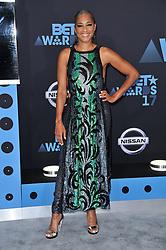 Amanda Seales at the 2017 BET Awards held at Microsoft Theater on June 25, 2017 in Los Angeles, CA, USA (Photo by Sthanlee B. Mirador) *** Please Use Credit from Credit Field ***
