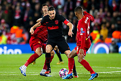 Koke of Atletico Madrid takes on Georginio Wijnaldum of Liverpool - Mandatory by-line: Robbie Stephenson/JMP - 11/03/2020 - FOOTBALL - Anfield - Liverpool, England - Liverpool v Atletico Madrid - UEFA Champions League Round of 16, 2nd Leg