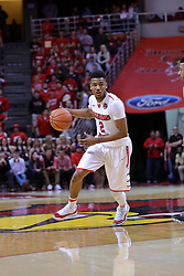 11 February 2017:  DJ Clayton(2) during a College MVC (Missouri Valley conference) mens basketball game between the Bradley Braves and Illinois State Redbirds in  Redbird Arena, Normal IL
