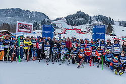 20.01.2018, Hahnenkamm, Kitzbühel, AUT, FIS Weltcup Ski Alpin, Kitzbuehel, Kitz Charity Trophy, im Bild die Teilnehmer der Kitz Charity Trophy 2018 // the participants of the Kitz Charity Trophy 2018 during the Kitz Charity Trophy of the FIS Ski Alpine World Cup at the Hahnenkamm in Kitzbühel, Austria on 2018/01/20. EXPA Pictures © 2018, PhotoCredit: EXPA/ Stefan Adelsberger