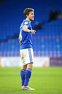 Cardiff City's Will Vaulks (6) in action during the EFL Sky Bet Championship match between Cardiff City and Millwall at the Cardiff City Stadium, Cardiff, Wales on 30 January 2021.