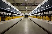 Deutsche Post Briefzentrum in Hamburg Altona / 310117<br /> <br /> [Briefzentrum (BZ) HH-Zentrum kann bis 4,5 Mio. Briefe täglich sortieren für die PLZ-Bereiche 20 & 22 mit einem Versorgungsbereich von 945 qkm. Das Zentrum hat rund 600 Mitarbeiter]<br /> <br /> ***Mail Distribution Center of the Deutsche Post in Hamburg, Germany on January 312, 2017***