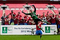 Football - FA Trophy Final - Newport County vs. York City<br /> York City Celebrates winning the FA Carlsberg Trophy Final