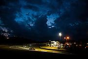 Night practice atmosphere, Petit Le Mans. Oct 18-20, 2012. © Jamey Price