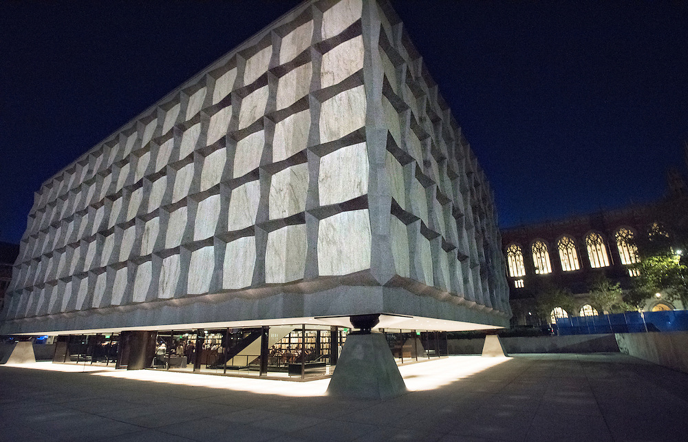 Photo by Mara Lavitt<br /> October 14, 2016<br /> Celebratory event in honor of the reopening of the Beinecke Rare Book and Manuscript Library, Yale University, New Haven, CT, held at the library.