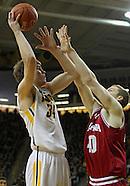 NCAA Men's Basketball - Indiana at Iowa - December 31, 2012