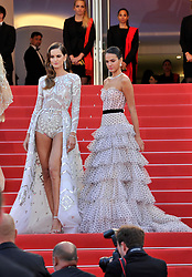 "1st Cannes Film Festival 2018,Red carpet film ""Le Grand Bain"" Isabeli Fontana. 13 May 2018 Pictured: 71st Cannes Film Festival 2018,Red carpet film ""Le Grand Bain"" Izabel Goulard, Bruna Marquezine. Photo credit: Pongo / MEGA TheMegaAgency.com +1 888 505 6342"