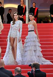 "1st Cannes Film Festival 2018,Red carpet film ""Le Grand Bain"" Isabeli Fontana. 13 May 2018 Pictured: 71st Cannes Film Festival 2018,Red carpet film ""Le Grand Bain"" Izabel Goulard, Bruna Marquezine. Photo credit: Pongo / MEGA TheMegaAgency.com +1 888 505 6342"