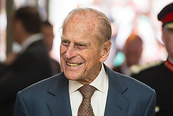 File photo dated 7/6/2016 of the Duke of Edinburgh during a visit to the Cardiff University Brain Research Imaging Centre in Wales. The Duke of Edinburgh has died, Buckingham Palace has announced. Issue date: Friday April 9, 2020.. See PA story DEATH Philip. Photo credit should read: Dominic Lipinski/PA Wire
