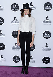 2019 LA Art Show Opening Night Gala. 23 Jan 2019 Pictured: Odette Annable. Photo credit: MEGA TheMegaAgency.com +1 888 505 6342
