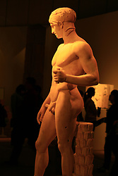 July 3, 2017 - Beijin, Beijin, China - Beijing, CHINA-(EDITORIAL USE ONLY. CHINA OUT)..The Greek Art Exhibition can be seen at National Museum of China in Beijing. (Credit Image: © SIPA Asia via ZUMA Wire)