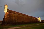 Macapa_AP, Brasil...Fortaleza de Sao Jose de Macapa, monumento militar do periodo colonial, na cidade de Macapa, Amapa...Sao Jose foltress in Macapa, military monument of colonial period in Macapa, Amapa...Foto: JOAO MARCOS ROSA / NITRO