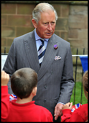 HRH The Prince of Wales visits Ludlow, Shropshire, Monday September 17, 2012 Photo Andrew Parsons/i-Images..All Rights Reserved ©Andrew Parsons/i-Images