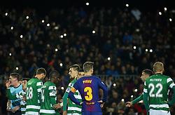 December 5, 2017 - Barcelona, Catalonia, Spain - Gerard Pique during the UEFA Champions League match between FC Barcelona v Sporting CP, in Barcelona, on December 05, 2017. (Credit Image: © Joan Valls/NurPhoto via ZUMA Press)