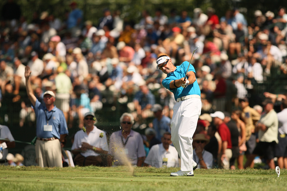 Robert Allenby during the second round of the 2008 PGA Championship at Oakland Hills Country Club in Bloomfield Hills, Michigan on Friday, August 8 2008. .