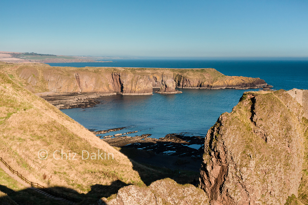 Dunottar Castle, near Stonehaven, is reputed to be Scotland's most haunted castle.