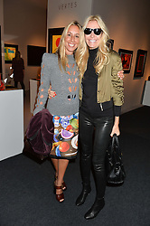 Left to right, HAYLEY SIEFF and MELISSA ODABASH at the PAD London 10th Anniversary Collector's Preview, Berkeley Square, London on 3rd October 2016.