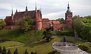 Frombork. Bazylika Archikatedralna z XIV wieku