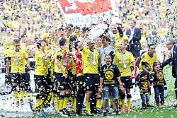 14.05.2011, Signal Iduna Park, Dortmund, GER, 1.FBL, Borussia Dortmund vs Eintracht Frankfurt, im Bild Deutscher Meister 2011: Borussia Dortmund //  during the German 1.Liga Football Match,  Borussia Dortmund vs Eintracht Frankfurt, at the Signal Iduna Park, Dortmund, 14/05/2011 . EXPA Pictures © 2011, PhotoCredit: EXPA/ nph/  Conny Kurth       ****** out of GER / SWE / CRO  / BEL ******