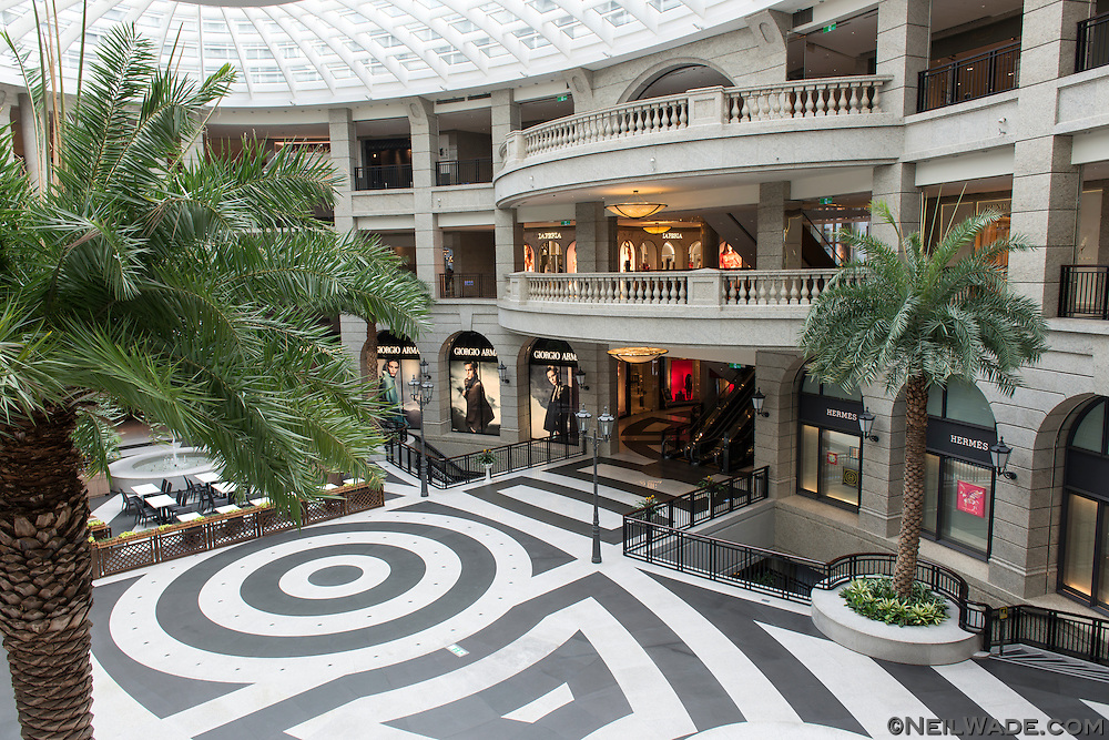 The Bellavita Shopping Mall is a very upscale shopping mall near Taipei 101 in Taipei, Taiwan.