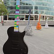Gibson Exhibit At The Scoop - London, UK