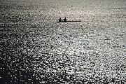 Varese,  ITALY. 2012 FISA European Championships, Lake Varese Regatta Course.  ..General Views of the Lake Varese Rowing Course.17:22:53  Thursday  13/09/2012 ..Sunrise, Sunsets, Silhouette...[Mandatory Credit Peter Spurrier:  Intersport Images]  ..2012 European Rowing Championships Rowing, European,  2012 010645.jpg.....