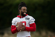 Geremy Davis of the New York Giants during the New York Giants Press Day  at Syon House, Brentford, United Kingdom on 21 October 2016. Photo by Jason Brown.