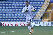 Robert Olejnik of Mansfield Town (12) during the The FA Cup match between Mansfield Town and Charlton Athletic at the One Call Stadium, Mansfield, England on 11 November 2018.