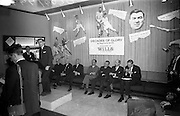 """17/05/1966<br /> 05/17/1966<br /> 17 May 1966<br /> Book reception for """"Decades of Glory: A Comprehensive History of the National Game"""" by Raymond Smith.<br /> This reception was held in the offices of W.D. & H.O. Wills to honour the well known author and journalist, Raymond Smith. His book on the history of Hurling (""""Decades of Glory"""") has just been published with the assistance of Wills of Dublin and Cork and the Central Council of the G.A.A.<br /> Author, Raymond Smith speaking at the reception for his new book, """"Decades of Glory: A Comprehensive History of the National Game."""""""