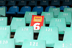 Fans fail to show on day four during day four of the first test match between South Africa and New Zealand held at the Kingsmead stadium in Durban, KwaZulu Natal, South Africa on the 22nd August 2016<br /> <br /> Photo by:   Anesh Debiky / Real Time Images