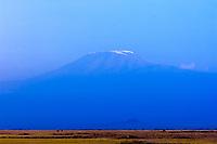 Mount Kilimanjaro seen from Amboseli National Park, Kenya