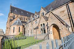 22 September 2016, Gorbals, Glasgow, Scotland: The St Francis church.