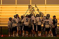 Granite Bay JV Lacrosse team plays Oak Ridge High School, Saturday March 13, 2013.