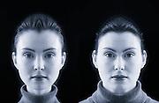 symmetrical portrait<br />