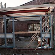 Verbouwing Meentkerk Huizen buitenzijde