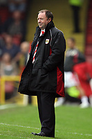 Photo: Rich Eaton.<br /> <br /> Bristol City v Crewe Alexander. Coca Cola League 1. 14/10/2006. Gary Johnson manager of Bristol watches placidly as his team win 2-1 at home