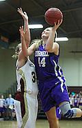 NCAA Women's Basketball - Cornell at Coe - February 23, 2012